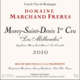Domaine Marchand Frères. Morey-Saint-Denis 1er Cru Les Millandes