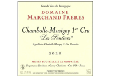 Domaine Marchand Frères. Chambolle-Musigny 1er Cru Les Sentiers