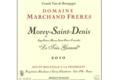 Domaine Marchand Frères. Morey-Saint-Denis Le Très Girard