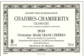 Domaine Marchand Frères. Charmes-Chambertin Grand Cru