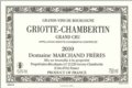 Domaine Marchand Frères. Griotte-Chambertin Grand Cru