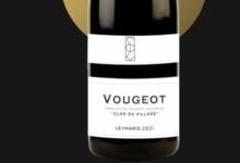 domaine Leymarie – CECI. Vougeot « Clos du village »