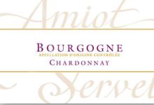 Domaine Amiot-Servelle. Bourgogne chardonnay