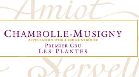 Domaine Amiot-Servelle. Chambolle-Musigny Premier Cru Les Plantes