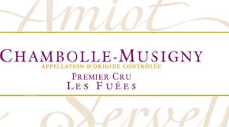 Domaine Amiot-Servelle. Chambolle-Musigny Premier Cru Les Fuées