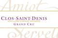 Domaine Amiot-Servelle. Clos Saint-Denis Grand Cru