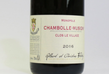 """Domaine Felettig. Chambolle-Musigny """"Clos Le Village"""""""