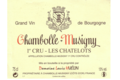 Domaine Louis Huelin. Chambolle-Musigny 1er cru Les Chatelots