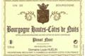 Domaine Louis Huelin. Bourgogne Hautes-Côtes de Nuits