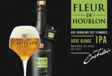 Brasserie Castelain. Castelain fleur de houblon IPA