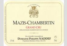 Domaine Philippe Naddef. Mazis-Chambertin Grand Cru