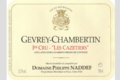 Domaine Philippe Naddef. Gevrey-Chambertin 1 er Cru « Les Cazetiers »