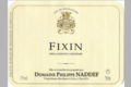 Domaine Philippe Naddef. Fixin