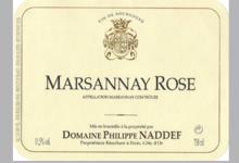 Domaine Philippe Naddef. Marsannay rosé