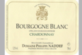 Domaine Philippe Naddef. Bourgogne blanc