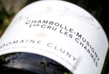 Domaine Cluny. Chambolle-Musigny 1er cru Les Charmes