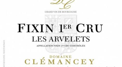 Domaine Clémancey. Fixin 1er cru Les Arvelets
