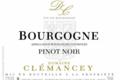 Domaine Clémancey. Bourgogne pinot noir