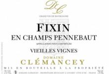Domaine Clémancey. Fixin en Champs Pennebaut