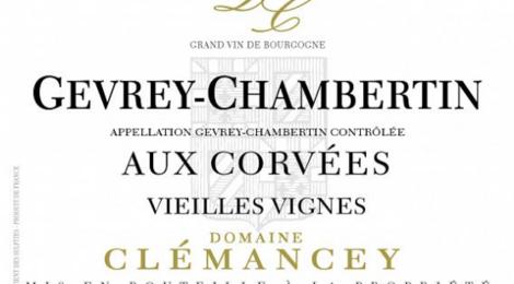 Domaine Clémancey. Gevrey Chambertin Aux Corvées