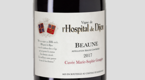 Beaune  Cuvée Marie-Sophie Grangier Vin de l'Hospital de Dijon