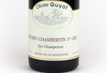 "Domaine Olivier Guyot. Gevrey-Chambertin 1er cru ""Les Champeaux"""