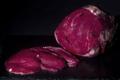 Ferme Kamakle. coeur de Charolais tranché