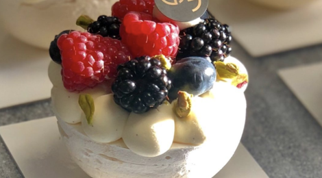 Jean Galloyer, Pavlova fruits rouges