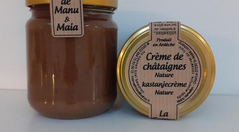 Crème de châtaignes BIO nature
