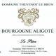 """Bourgogna Aligoté """"La pièce"""" 2018"""