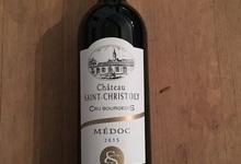 Château Saint Christoly 2015 - Cru Bourgeois AOC Médoc, 0.75l ( BOUTEILLE)