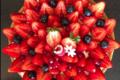 Pâtisserie l'Ambroisie. Tarte aux fraises
