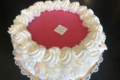 Pâtisserie l'Ambroisie. Vacherin vanille framboise