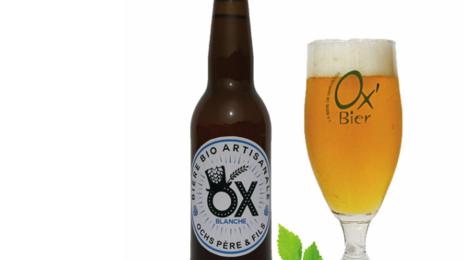 Brasserie Artisanale de Marcoussis. Bière OX Blanche