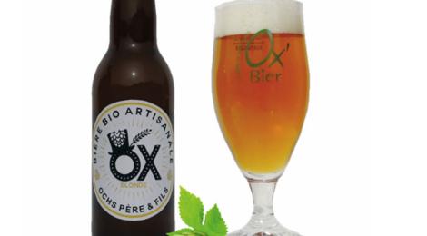 Brasserie Artisanale de Marcoussis. Bière OX Blonde