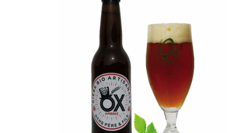 Brasserie Artisanale de Marcoussis. Bière OX Ambrée