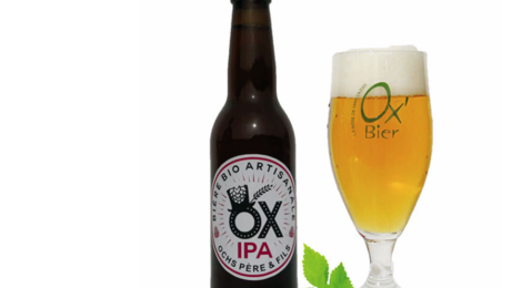 Brasserie Artisanale de Marcoussis. Bière OX IPA