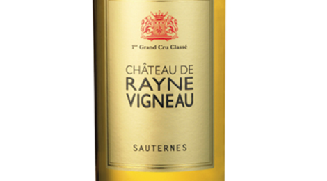 Château de Rayne Vigneau Premier Grand Cru Classé de Sauternes en 1855