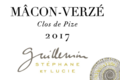 Domaine Guillemin Lucie et Stéphane. Clos de Pize