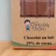 Les bonbons de Julien. Chocolat au lait en tablette