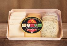 Pochat & Fils. Plateau de 3 fromages pour raclette