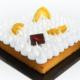 Pâtisserie Chocolaterie Germain. Tarte aux deux citrons